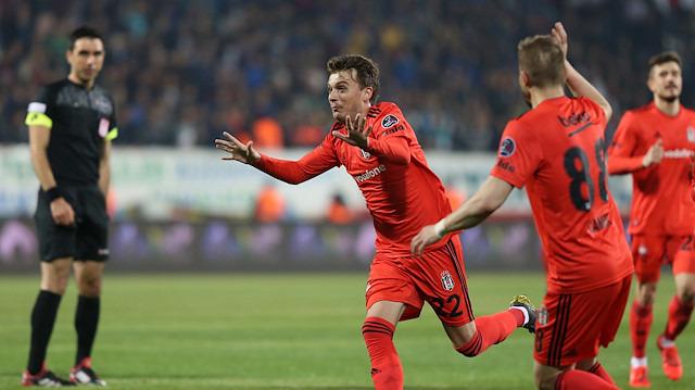 Beşiktaş'tan 7 gollü zafer