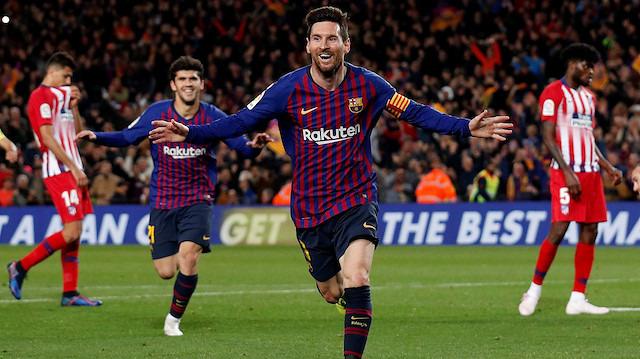 Messi, altıncı kez Altın Ayakkabı'nın peşinde