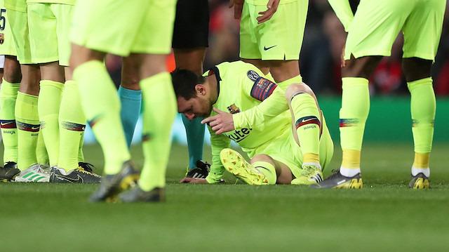 Messi yürekleri ağızlara getirdi