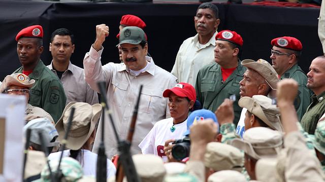 Venezuela'da Bolivarcı Milis Gücün sayısında büyük değişim: 2 milyonu aştı