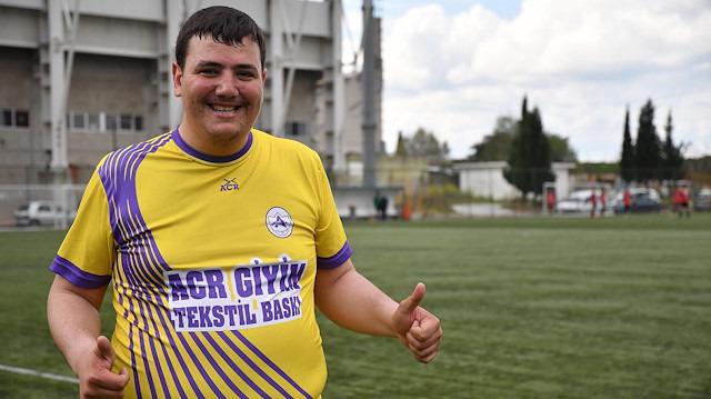 140 kiloluk futbolcu: Hasan Can Vatan