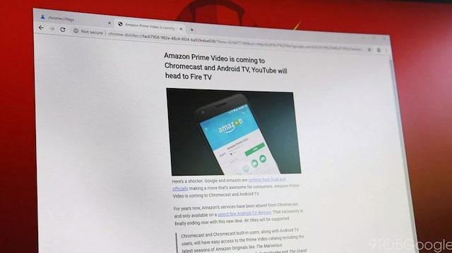 Google Chrome için okuma modu özelliği geliyor