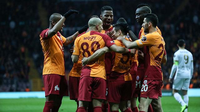 Galatasaray'ın golünde 'bek' detayı