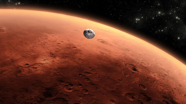 Mars'ta 'ilk deprem' kaydedildi
