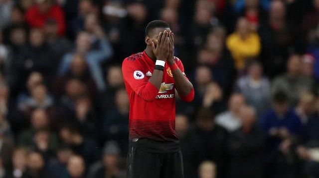 Manchester United'da hayal kırıklığının adı: Paul Pogba