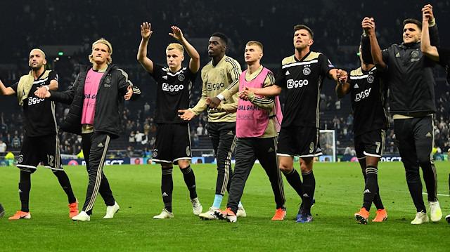 Şampiyonlar Ligi'nin rüya takımı Ajax