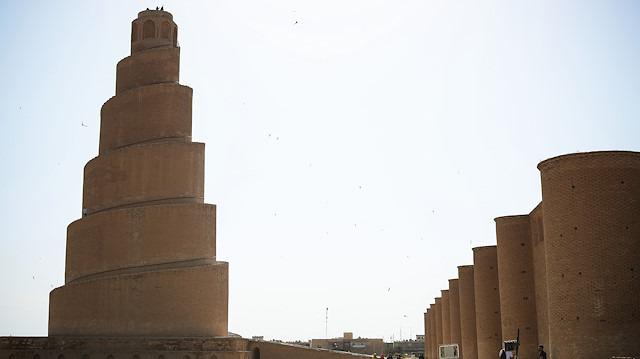 Irak'taki bin yıllık Melviye minaresi tehlike altında