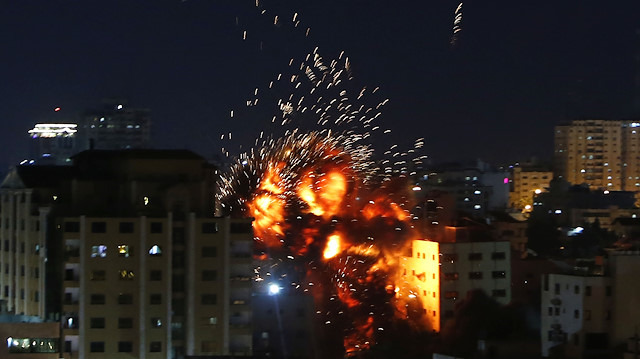 İsrail'in Anadolu Ajansı ofisini bombalaması sonrası yaşananlar