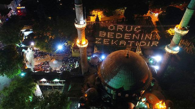 Ramazan geldi; Eyüp Sultan şenlendi