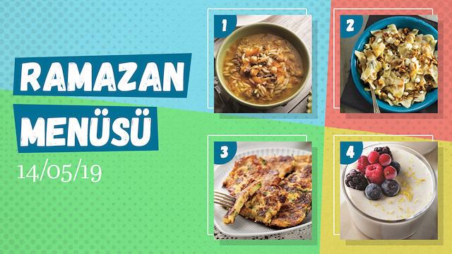 Ramazan ayına özel günlük iftar menüsü #9