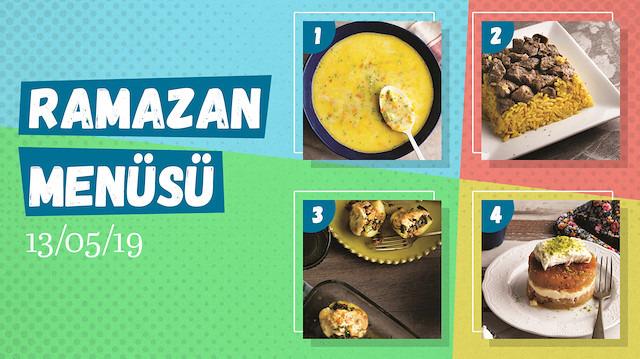 Ramazan ayına özel günlük iftar menüsü #8
