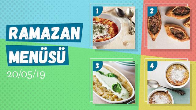 Ramazanayına özel  günlük iftar menüsü #15