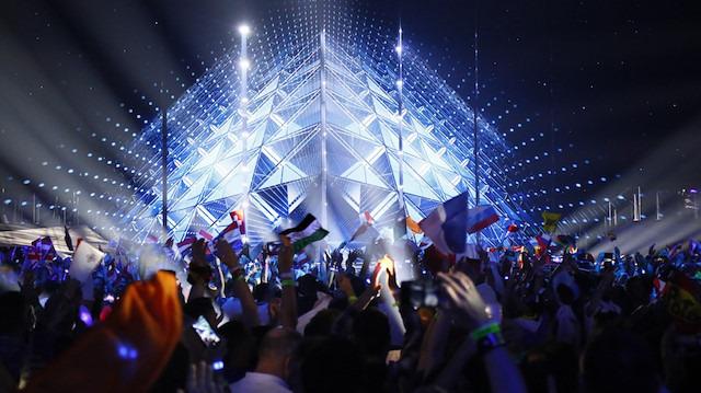 Filistin protestolarının gölgesinde geçen 'İsrail' Eurovision şarkı yarışması