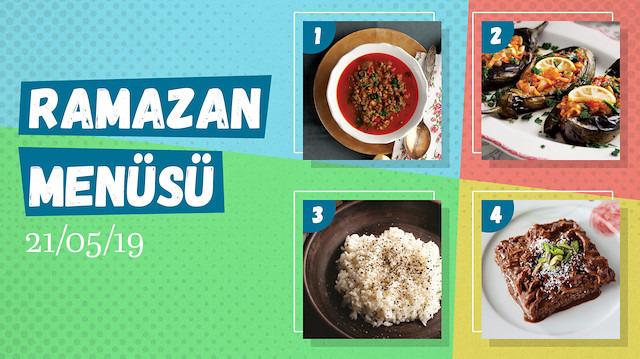 Ramazan ayına özel günlük iftar menüsü #16