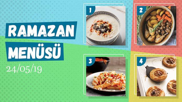 Ramazan ayına özel günlük iftar menüsü #19