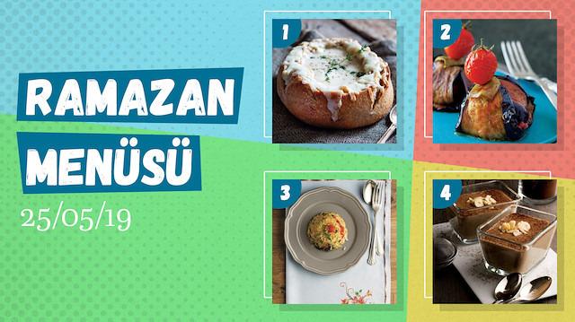 Ramazan ayına özel günlük iftar menüsü #20