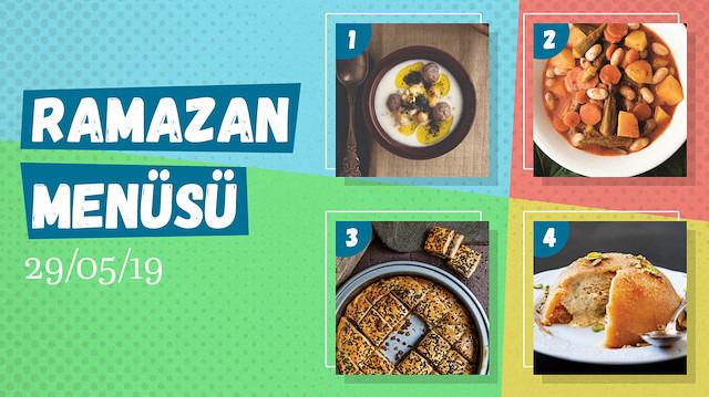 Ramazan ayına özel günlük iftar menüsü #24