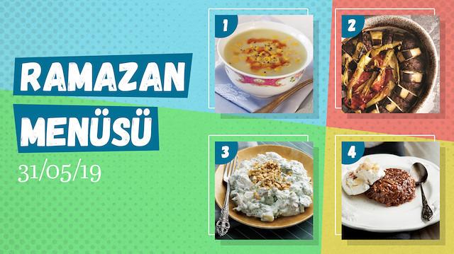 Ramazan ayına özel günlük iftar menüsü #26
