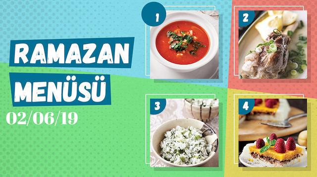 Ramazan ayına özel günlük iftar menüsü #28