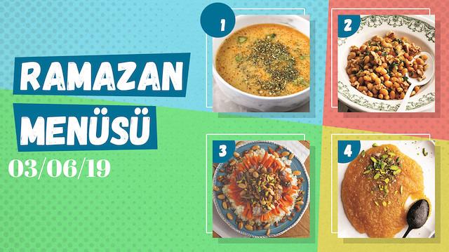 Ramazan ayına özel günlük iftar menüsü #29