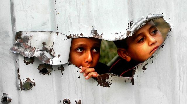İsrail, AB tarafından Filistinlilere bağışlanan prefabrik sınıfları açık artırmaya çıkaracak