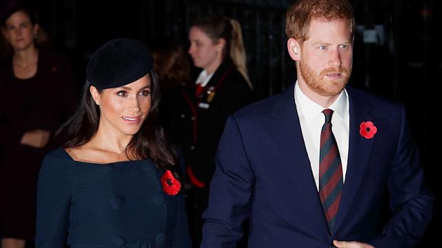 Kraliyet ailesinin gündemi değişti: Meghan Markle ve Prens Harry İngiltere'den gidiyor