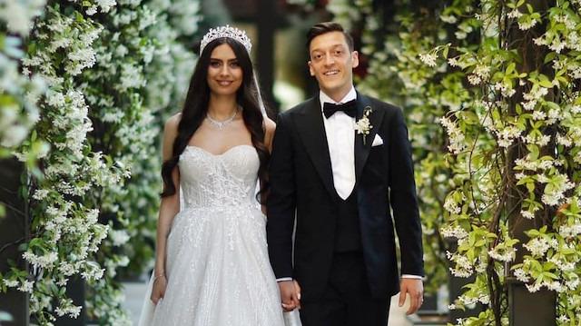Mesut Özil ve Amine Gülşe evlendi