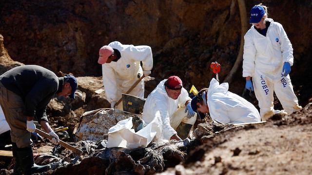 Bosna'da 12 yeni ceset bulundu