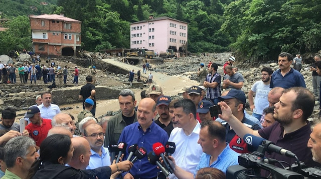 Trabzon'daki can kaybı 5'e yükseldi