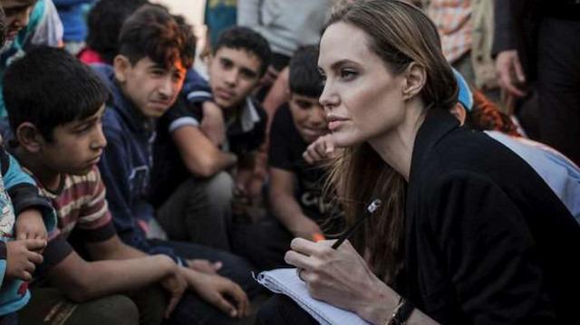 Angelina Jolie mülteci kriziyle ilgili: Avrupalılar da önceden mülteci olduklarını hatırlamalı