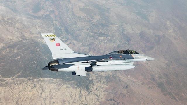 MSB: Kuzey Irak'ta 96 terörist etkisiz hale getirildi