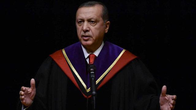 Cumhurbaşkanı Erdoğan'a Japonya'da fahri doktora unvanı