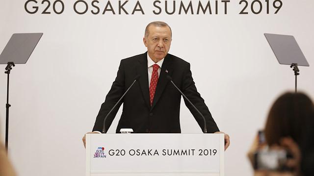 Cumhurbaşkanı Erdoğan'dan G-20 değerlendirmesi
