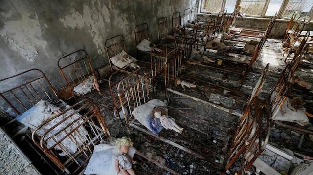 Çernobil'de gizlenen şey ne?
