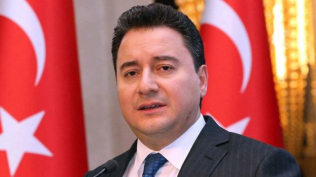 Ali Babacan AK Parti'ye istifasını verdi