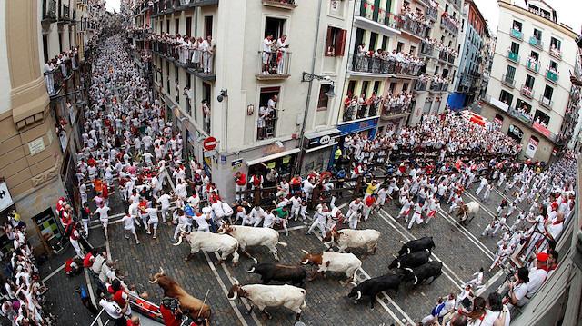 İspanya'da boğalar tekrar pistte: 2 günde 9 yaralı
