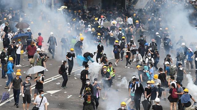 Hong Kong'da protestolar sonuç verdi: İade tasarısı çekiliyor