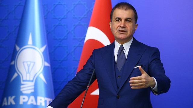 AK Parti Sözcüsü Çelik: Yunan Bakanın üslubu devlet adamı üslubu değil