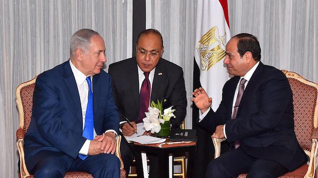 Netanyahu Sisi'ye övgü yağdırdı