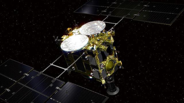 Japon uzay aracı asteroide ikinci inişini yaptı