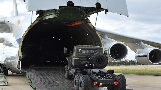 Bakanlık paylaştı! İşte S-400 teslimatından ilk görüntüler