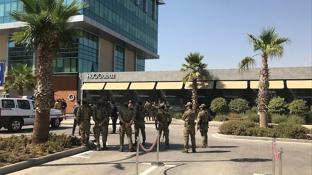 Erbil'de silahlı saldırı: Bir konsolosluk çalışanımız şehit oldu
