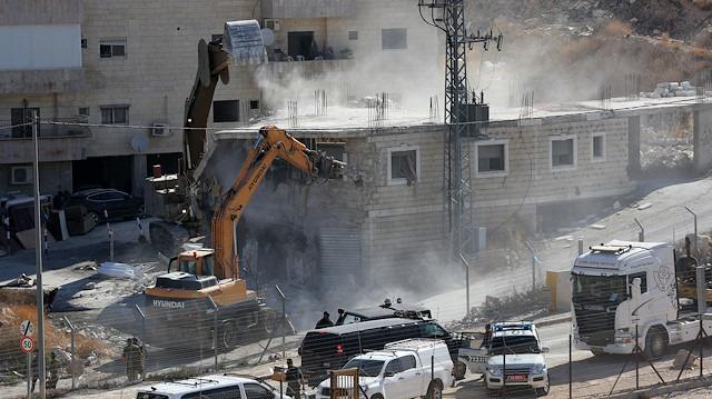 Doğu Kudüs'te İsrail yıkımı
