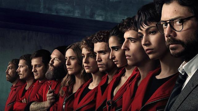 La Casa De Papel dizisi rekor kırdı: Dünya çapında 34 milyon 355 bin 956 kişi izledi