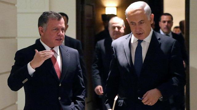 Ürdün Kralı Abdullah, Netanyahu'yu reddetti