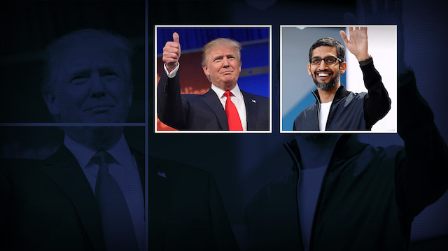 Donald Trump Google'a karşı: 'Yakından takip ediyoruz'