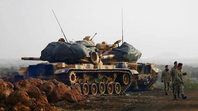 Afrin'deki TSK üssüne saldırı: 2 asker yaralı