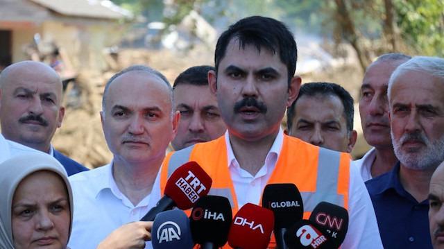Bakanı Kurum'dan Denizli depremiyle ilgili açıklama