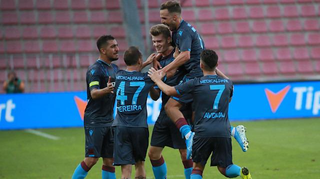 Trabzonspor, Avrupa Ligi'nde tur için umutlandı