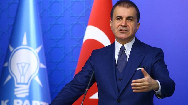 AK Parti Sözcüsü Çelik: Suriyeliler güvenli bölge kurulunca dönüş yapacak